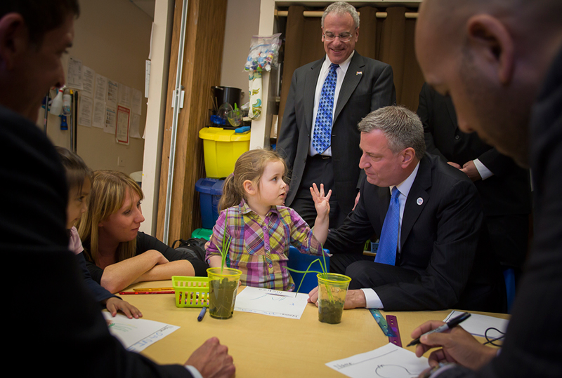 Mayor de Blasio Urges Families to Register for Free Pre-K