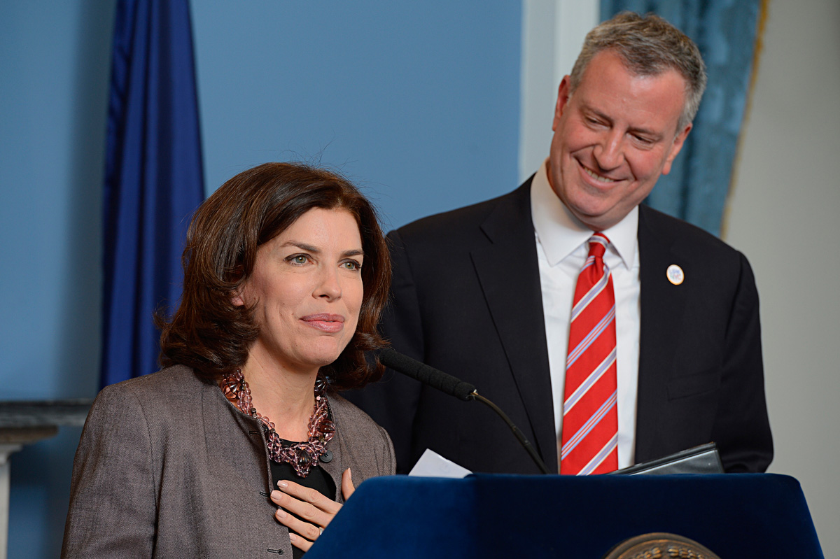 Mayor de Blasio Appoints Julie Menin as Commissioner of Department of Consumer Affairs