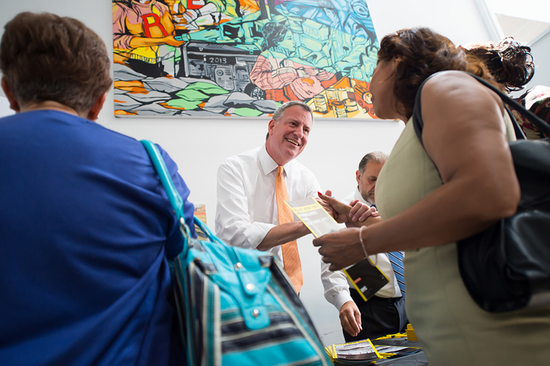 Mayor de Blasio Encourages New Yorkers to be Prepared as the City Heads into Peak Hurricane Season