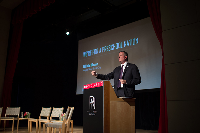 Transcript: Mayor de Blasio Delivers Remarks at The Preschool Nation Summit