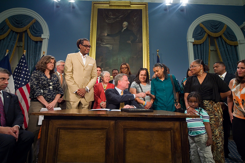 Mayor de Blasio Signs 'Avonte's Law'