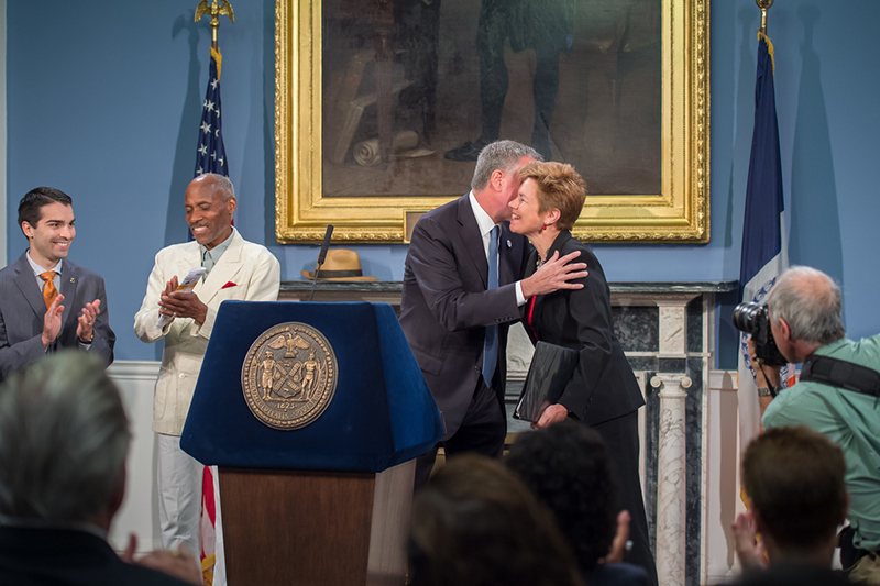 Mayor de Blasio Appoints Loree Sutton Commissioner of The Mayor's Office of Veterans' Affairs