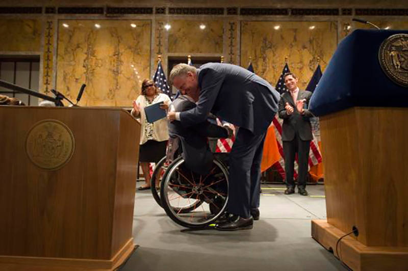 Transcript: Mayor de Blasio Delivers Remarks at Mayor's Awards in Honor of The Americans with Disabi