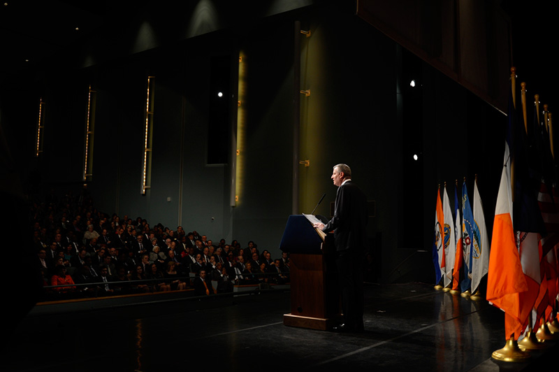 Mayor Bill de Blasio Delivers the State of the City Address