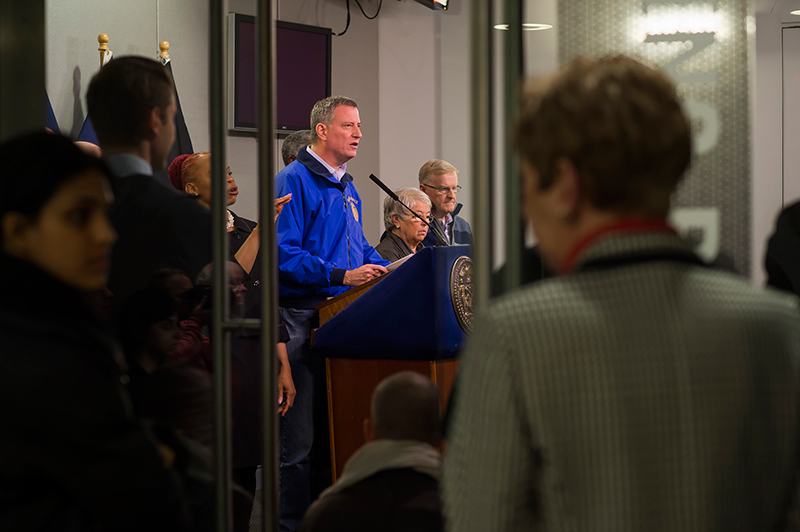 Transcript: Mayor de Blasio Delivers Update on Winter Storm