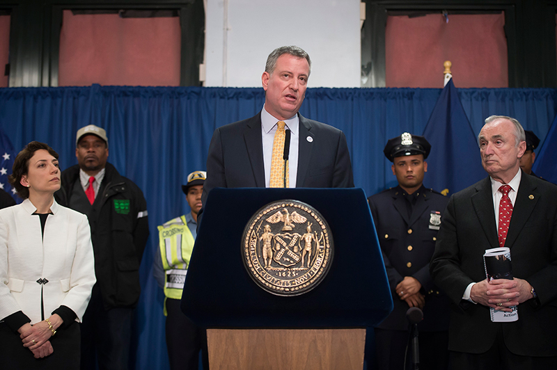 Transcript: Mayor de Blasio Releases 'Vision Zero' Action Plan