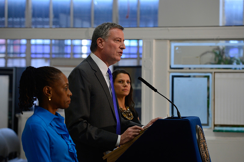 Mayor de Blasio Appoints First Lady Chirlane McCray As Chair Of The Mayor's Fund To Advance New York