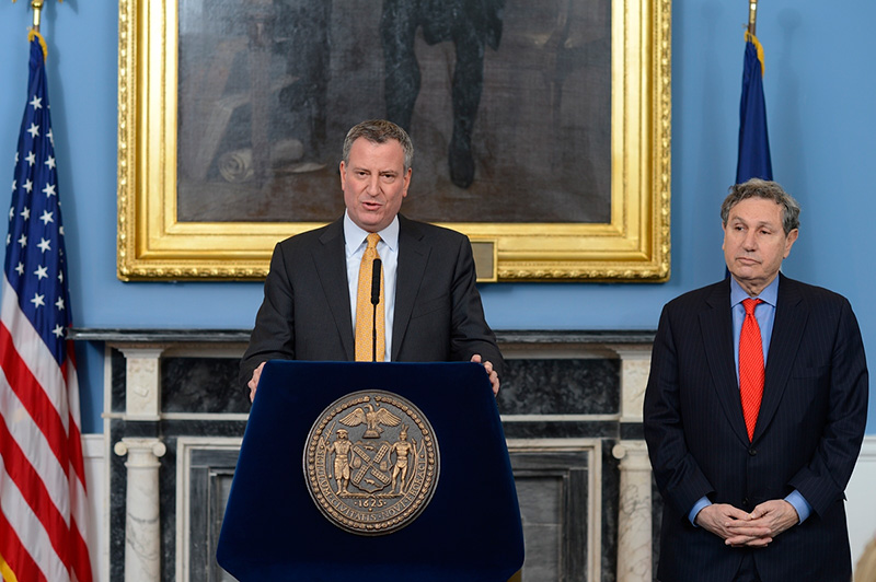 Mayor de Blasio Appoints Carl Weisbrod as Chair of the City Planning Commission