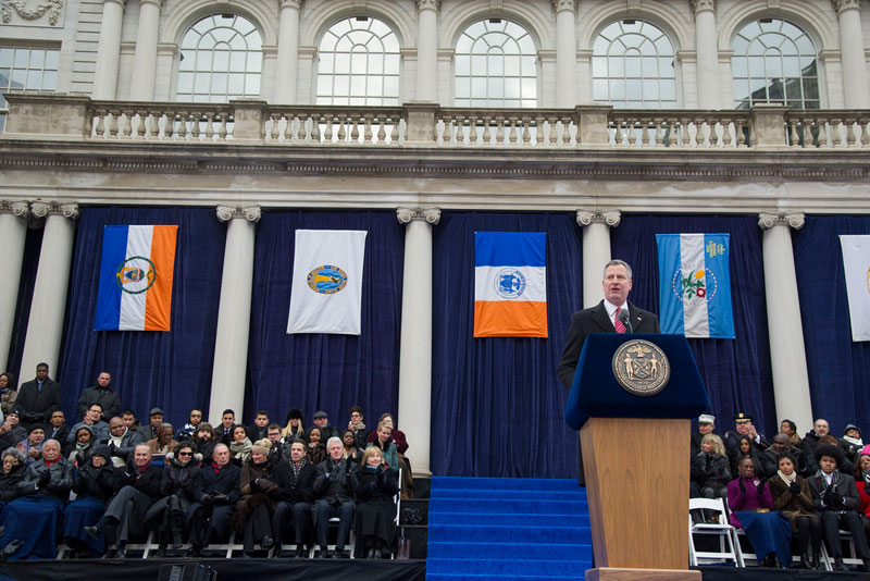 Inaugural address of Mayor Bill de Blasio: Progress for New York