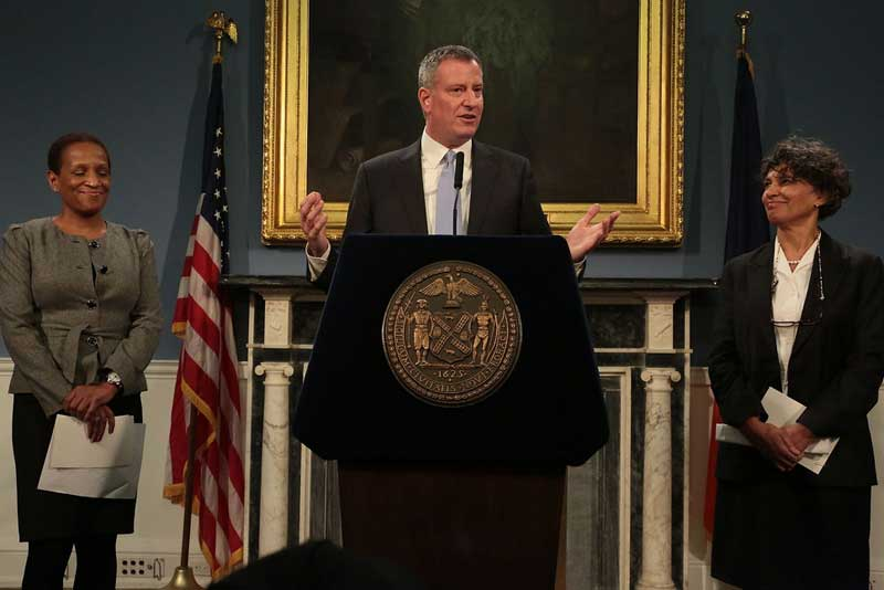 Mayor de Blasio Appoints Commissioners to Protect New Yorkers' Health and Safety
