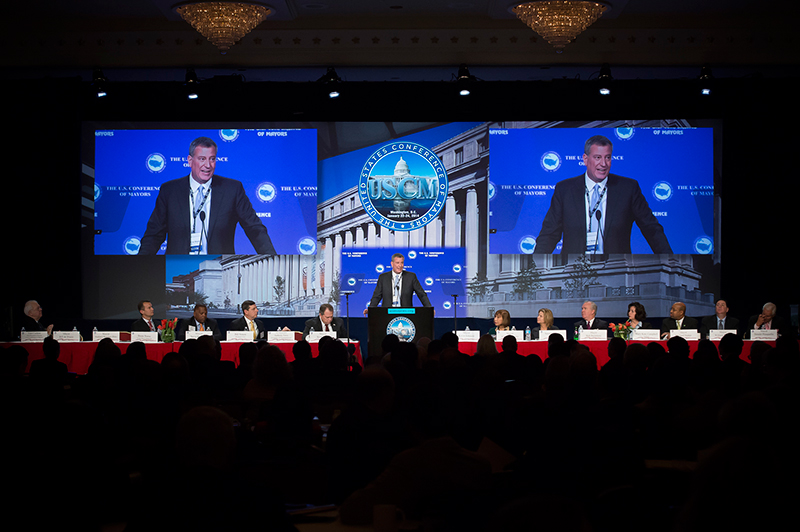 Mayor de Blasio Delivers Remarks at Plenary Session of U.S. Conference of Mayors