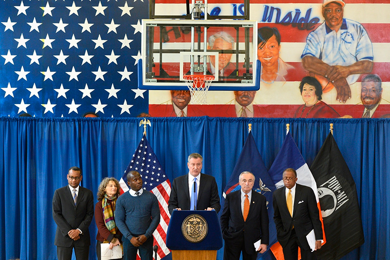 Mayor de Blasio Announces Agreement in Landmark Stop-And-Frisk Case