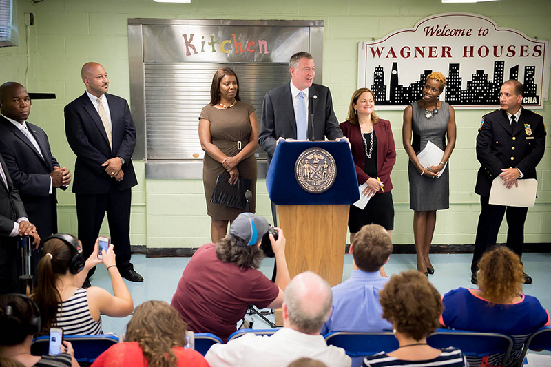 Transcript: Mayor Announces Plan to Make NYC's Neighborhoods and Housing Developments Safer