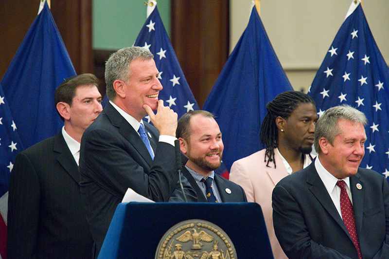 Mayor de Blasio Signs Legislation To Co-Name 63 Thoroughfares And Public Places