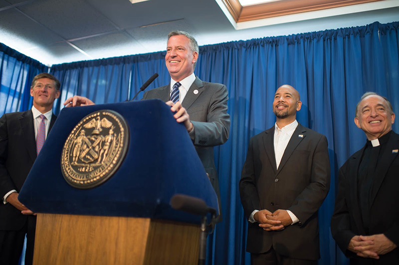Mayor de Blasio, Comptroller Stringer, Community Preservation Corporation, and Citi Announce New Par