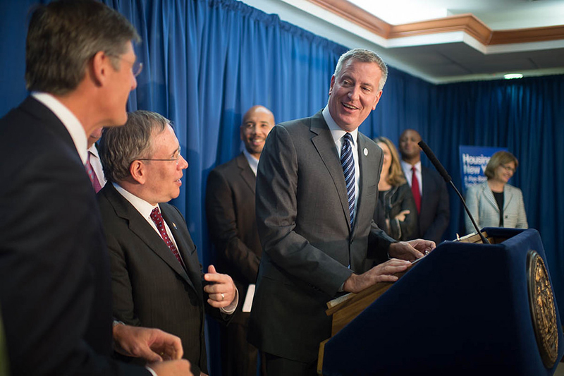 Transcript: Mayor de Blasio Announces New Partnership to Invest $350 Million in Affordable Housing