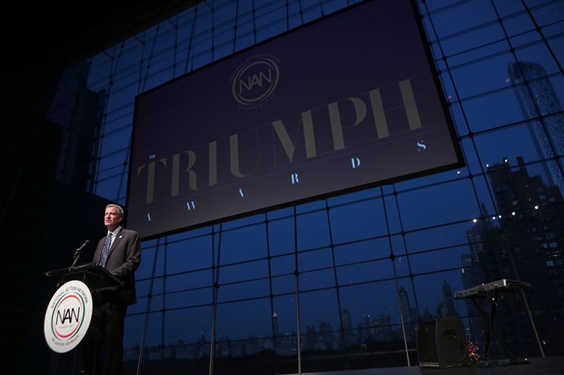 Mayor de Blasio Delivers Remarks at the National Action Network Triumph Awards