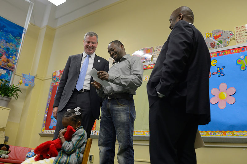 Match Day: First Children Accepted To City's New Full-Day Pre-K Programs