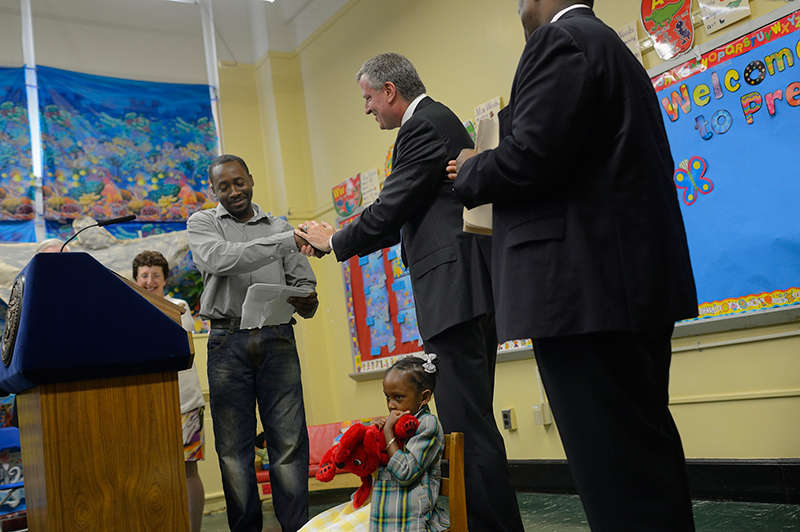 Transcript: Mayor de Blasio Hosts Press Conference to Announce First Children Accepted