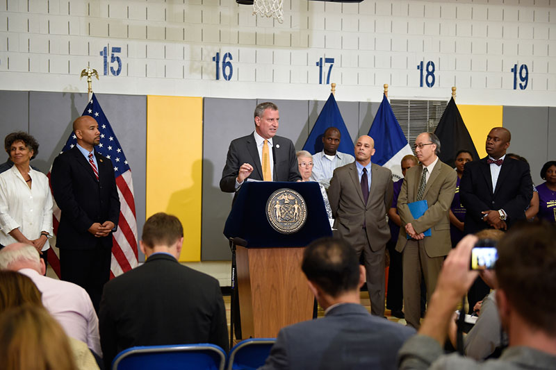 Mayor de Blasio, Schools Chancellor Fariña, DYCD Commissioner Chong Announce 271 New Providers