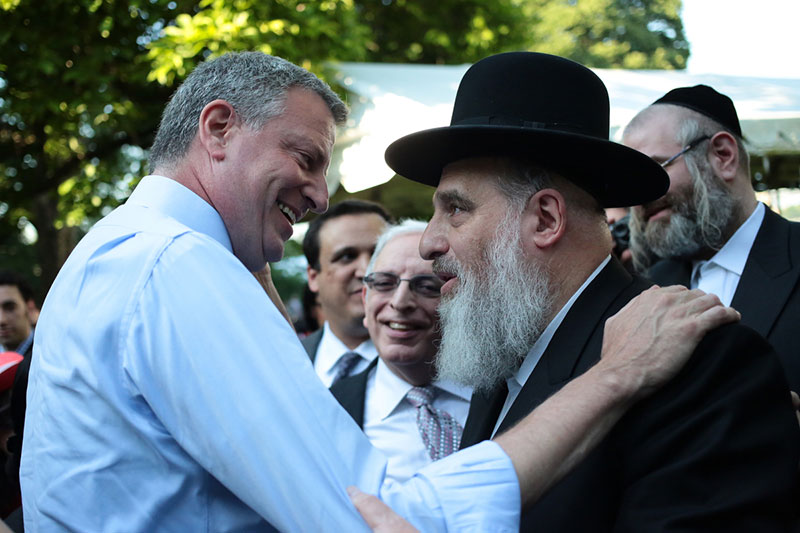 Transcript: Mayor de Blasio Speaks at Jewish Heritage Reception