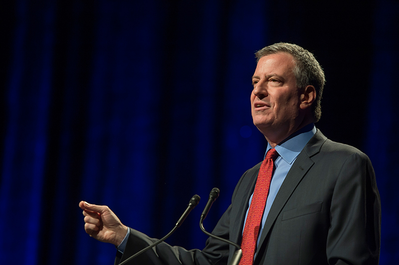 Mayor De Blasio to keynote internet week New York 2014
