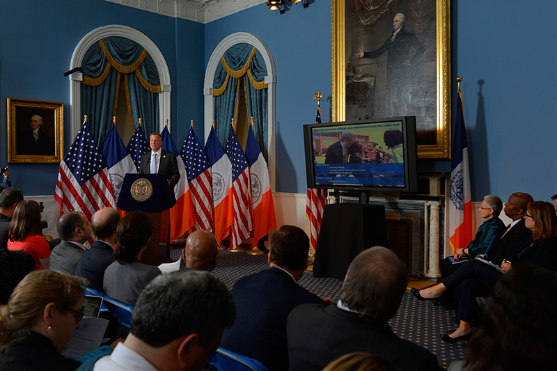 Reactions To Mayor de Blasio's Executive Budget for Fiscal Year 2015