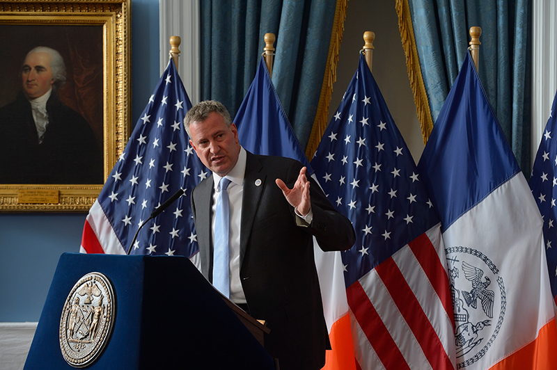 Transcript: Mayor de Blasio Issues Executive Budget for Fiscal Year 2015