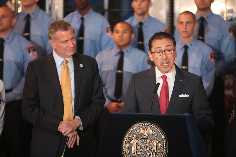Mayor Appoints Commissioner Of The NYC Fire Department