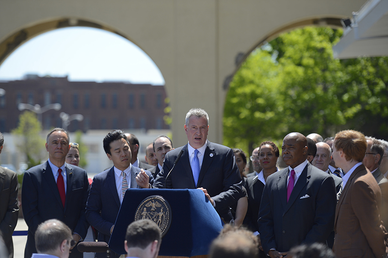 Mayor de Blasio Announces 'Jobs for New Yorkers'