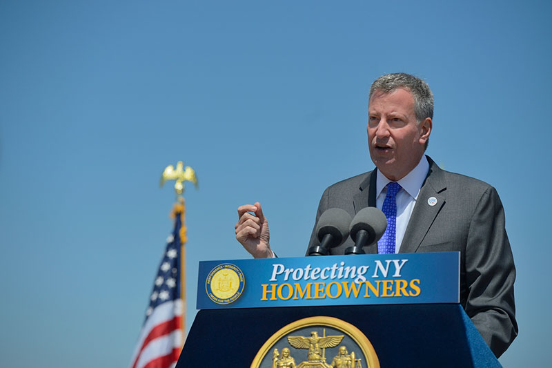 Governor Cuomo Signs Legislation Proposed by Mayor de Blasio to Provide Tax Relief for Homeowners