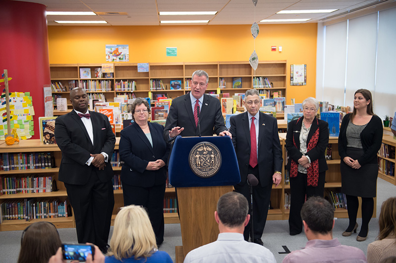 Mayor de Blasio Announces More Than 53,000 Children Learning in High-Quality, Full-Day Pre-K