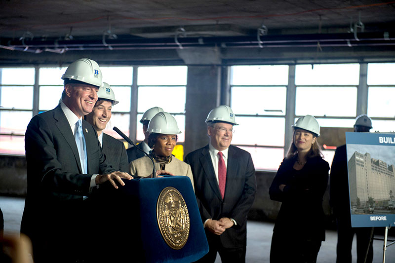 De Blasio Administration Launches Major Manufacturing Expansion at Brooklyn Navy Yard