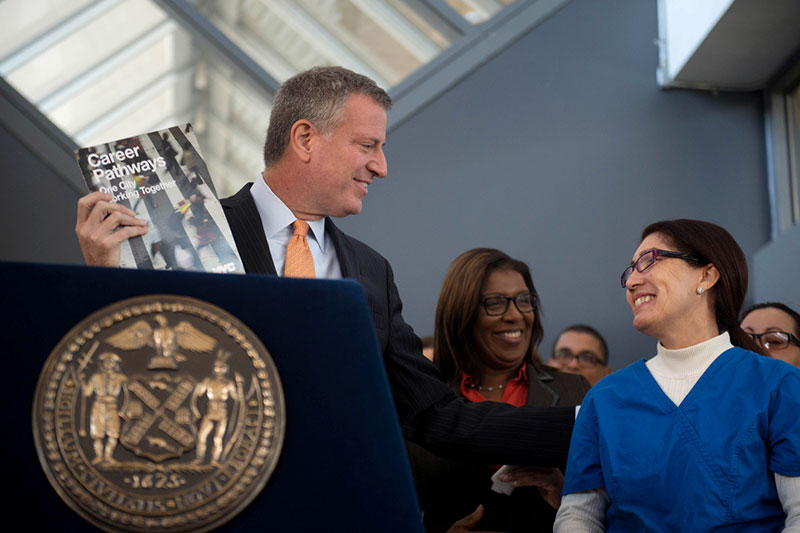 De Blasio Administration Announces Overhaul of Workforce Development