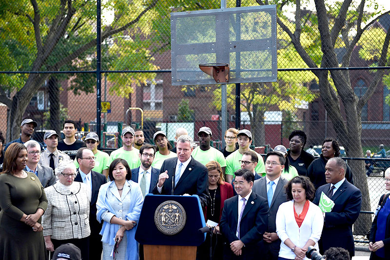 Mayor Launches Community Parks Initiative to Build Inclusive & Equitable Parks System