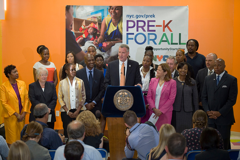 New York City Launches Historic Expansion of Pre-K to More Than 51,000 Children