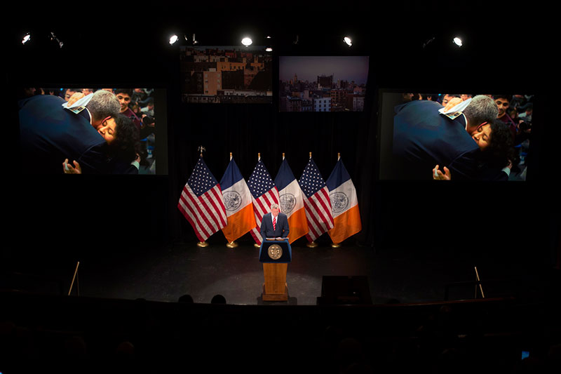 State of The City: Mayor de Blasio Puts Affordable Housing at Center of 2015 Agenda