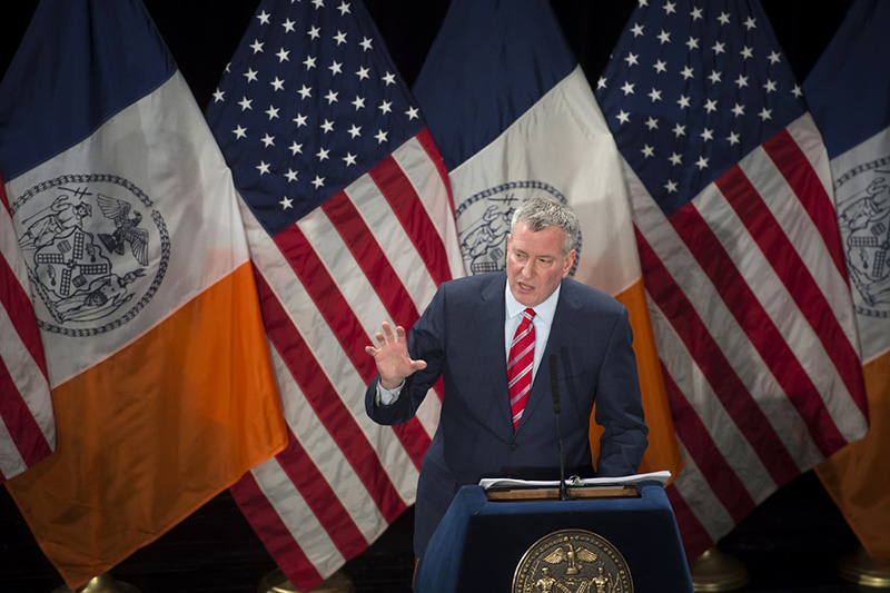 State of The City Remarks by Bill de Blasio, As Prepared for Delivery