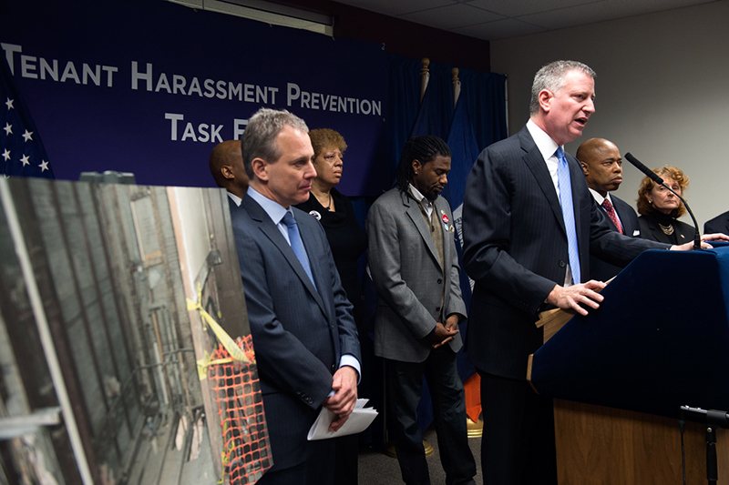 Governor Cuomo, A.G. Schneiderman, Mayor Join Forces to Combat Landlord Harassment of Tenants