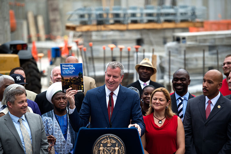 De Blasio Administration Announces a Record-Breaking 20,325 Affordable Apartments and Homes