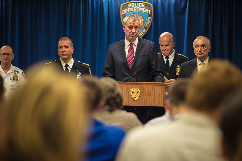 "Mayor de Blasio and Police Commissioner Bratton Launch ""Summer All Out"" Initiative"