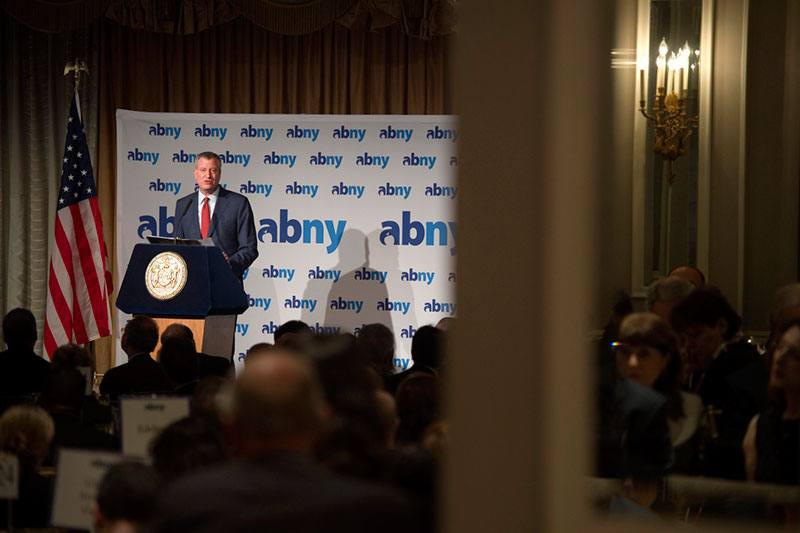 Mayor de Blasio Delivers Remarks at Association for a Better New York