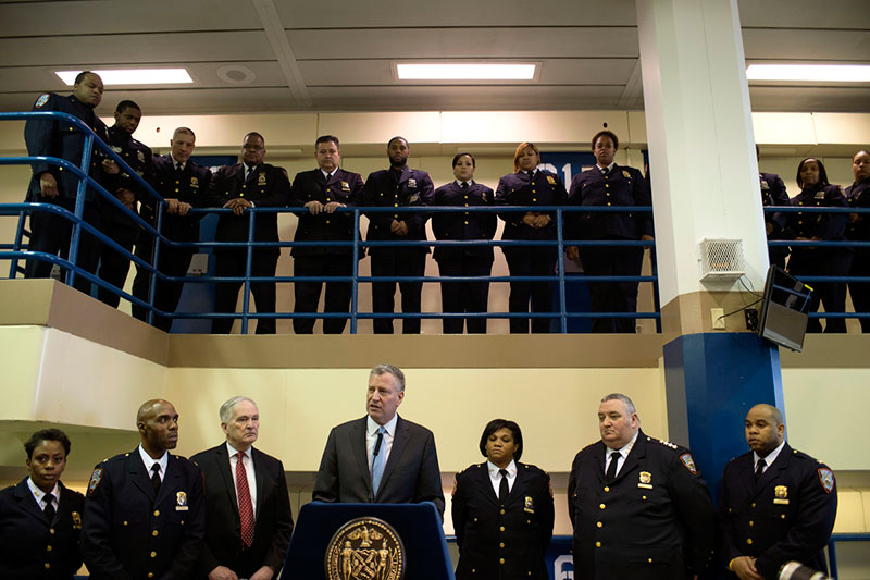 Mayor de Blasio, Commissioner Ponte Announce 14-Point Rikers Anti-Violence Agenda
