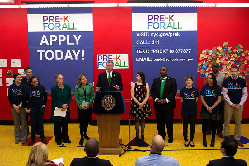 Pre-K for All: 22,000 Families Apply for Pre-K on First Day