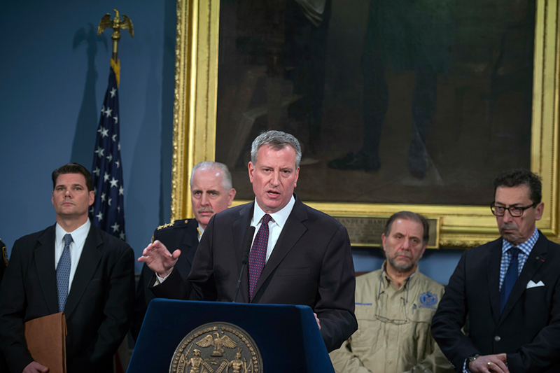 Transcript: Mayor de Blasio Provides Update on Building Collapse in the East Village