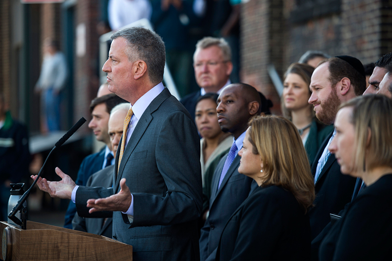Mayor de Blasio and Speaker Mark-Viverito Unveil Action Plan to Grow 21st Century Industrial and Man