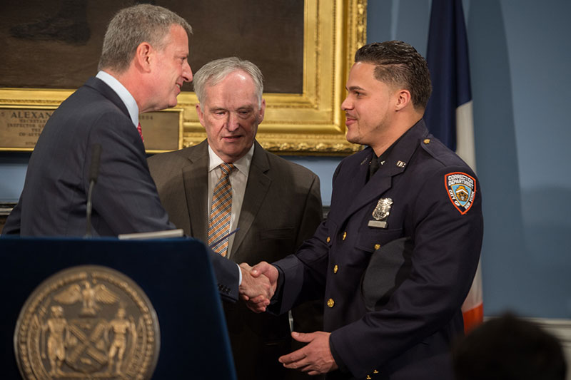 nyc correction officer