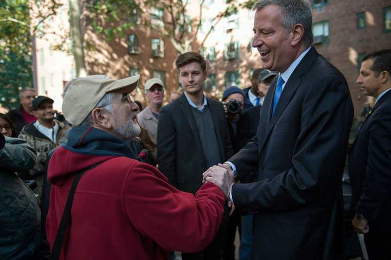 Mayor de Blasio Announce 20-Year Agreement with Blackstone and Ivanhoé Cambridge