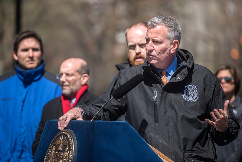 Mayor de Blasio Announces Home-Stat Program Fully Operational