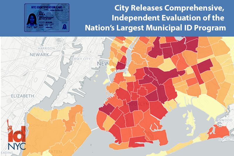 First Comprehensive, Independent Evaluation of Nation's Largest Municipal ID Program